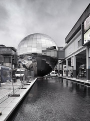Bristol (padraic collins) Tags: bristol planetarium stainlesssteelsphere milleniumsquare