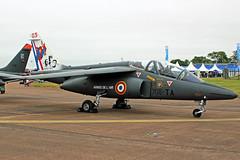 French Air Force Alpha Jet E42 (Sam Pedley) Tags: e45 alphajet frenchairforce 705ta dassaultdornier riat royalinternationalairtattoo raffairford ffd egva armeedelair spa85 centenary spa85centenary airshow static vehicle aircraft airplane jet military militaryaircraft airforce