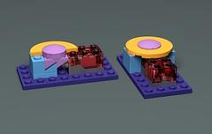 Push button for light brick (GolPlaysWithLego) Tags: lego technique lightbrick