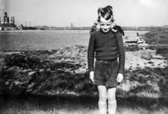 Sjoerd, late 1950's (fotofrysk) Tags: portrait me sjoerd shyboy sjoerdhayejosefwitteveen fotofrysk49 nederland friesland midlum koetille farm potatoharvest canal dad hait hermanwitteveen grandfather pake sidoniuswitteveen farmers kalkfabriek kalkovens 1950s blackandwhite dsc5629