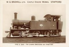 Africa Railways - Nigerian Railways 0-6-0 steam locomotive  Nr. 18 (William Bagnall Locomotive Works 2202) (HISTORICAL RAILWAY IMAGES) Tags: africa railways bagnall steam locomotive nigeria 060 e2202