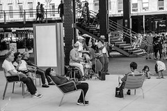 Street Concert (inakicia) Tags: jazz newyork nuevayork street urbana urban bw bn music musica concierto concert ny whitneymuseum