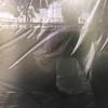 Enjoy the evening! (zeh.hah.es.) Tags: zurich zürich kreis5 röntgenstrasse schweiz switzerland spiegelung reflection fenster window me ego je ja ich zehhahes zehpunkt sonnenuntergang sunset bahn railway selfie selbstportrait folie foil