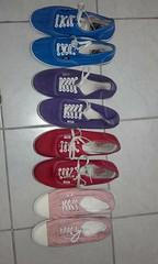 Which 2 pairs of these Vans should I gunge ? (eurimcoplimsoll) Tags: