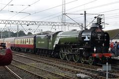 LNER 60163 @ Carlisle train station (ianjpoole) Tags: london north eastern class a1 peppercorn 60163 tornado working uk railtours 1z63 the border raider from tame bridge parkway carlisle