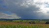 Heavy squalls over the Eden Valley. (greengrocer48) Tags: thunderhead a66