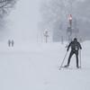 Making the most of it-Blizzard 2016 (Kielrah) Tags: skiing skiier national mall washington dc blizzard 2016 snow snowing tanimurphy tani murphy snowpocalypse washingtondc dmv nationalmall