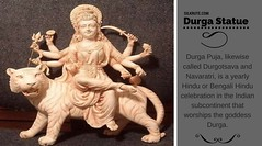 Durga Puja Festival - Why we celebrate durga puja? - Silkrute.com (Silkrute) Tags: statue celebration brass online shopping