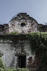 The Red House (Milena Galizzi) Tags: forgotten abandoned house villa de vecchi red wood infested ghost spirits architecture