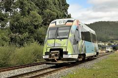 Tren da Ruta dos Faros (Andreu Anguera) Tags: trendeviaestrecha feve renfe trenturístico trendarutadosfaros serie2900 2902 xubia acoruña galicia andreuanguera