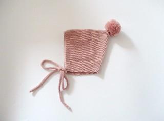 Pompom Pixie Bonnet