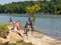 20170821_140836 (jaglazier) Tags: 2017 82117 adults august barechested bearded beards coniferoustrees conifers copyright2017jamesaglazier deciduoustrees hairy hairychest jamesaferguson jimferguson kentucky lakemalone lakes lewisburg men portraits rocks trees usa barefoot hairyarms landscapes belton unitedstates