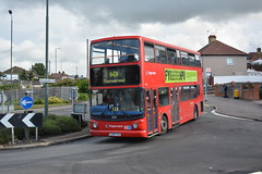 18219 - 601 Thamesmead (Gellico) Tags: stagecoach london dennis trident alx400 bus route 601 thamesmead dartford heath schools wilmington 18219 18208 17862 plumstead depot pd