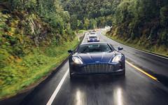 Rainy Days. (Alex Penfold) Tags: aston martin one77 one 77 177 supercars supercar super car cars autos alex penfold 2017 norway blue hyper hypercar hypercars