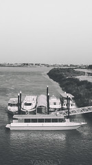 Nile ships (Yaman Y) Tags: sudan khartoum black white old summer yamany yaman photography السودان الخرطوم أبيض أسود ships ship nile river