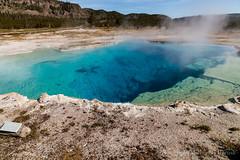 Sapphire Pool (mghornak) Tags: sapphirepool yellowstonenationalpark hotspring thermalpool water color blue canon canoneos5dmarkii june2017