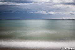 How Can You Hear Your Soul If Everyone Is Talking? (_Natasa_) Tags: sea sky clouds blue croatia hrvatska povljana pag island otokpag nature art longexposure natasaopacic natasaopacicphotography canon canoneos7d canonef2470mmf28liiusm landscape seascape water beach