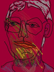 2016.10.01 Not a Beard (Julia L. Kay) Tags: juliakay julialkay julia kay artist artista artiste künstler art kunst peinture dessin arte woman female sanfrancisco san francisco sketch digital drawing digitaldrawing dibujo selfportrait autoretrato daily everyday 365 self portrait portraiture mobileart mobile iphone iphoneart idraw isketch iart face mda iamda mobiledigitalart dpp dailyportraitproject touchscreen fingerpaint fingerpainter ipad ithing idevice drawingpad drawingpadapp drawingpadapponly