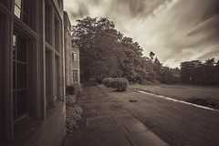 "Outside Gean House in sepia, magnificent Arts & Crafts Mansion, Alloa, Clackmannanshire, Scotland (grumpybaldprof) Tags: alloa ""ochilhills"" ochil hills mountains scotland clackmannashire ""centrallowlands"" ""northbank"" ""firthofforth"" ""geanhouse"" edwardian 1912 ""williamkerr"" ""artscrafts"" ""edwardlutyens"" style elegance stone ""alexanderforresterpaton"" canon 7d ""canon7d"""