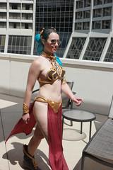 DC31 - 2323 - Day 2 (Photography by J Krolak) Tags: dragoncon31 dragoncon2017 dragoncon dragon con costume cosplay masquerade atlanta ga leia princessleia starwars slaveleia leiasmetalbikini