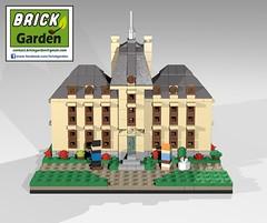 BGD 0026 R0 Tintin Moulinsart POV 03 (BRICK GARDEN) Tags: tintin bgd moulinsart lego brickgarden afol moc herge