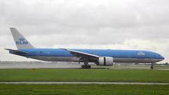 Boeing 777-306 c/n 39972 KLM Royal Dutch Airlines registration PH-BVF (sirgunho) Tags: amsterdam airport schiphol aircraft holland the netherlands polderbaan phbvf klm royal dutch airlines boeing 777300 b777 777306 cn 39972 registration