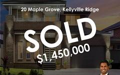 20 Maple Grove, Kellyville Ridge NSW