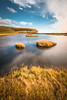 Two brothers and seven sisters (Toukensmash) Tags: grass grassland meadow green autumn fall england english uk united kingdom great britain seven sisters day daylight outdoor trip interrail lake water reflection island brown sony alpha58 sky clouds hdr weather europe mountain cliffs