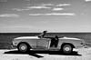 Mercedes 280 SL (Carlos Arriero) Tags: mercedes mercedes280sl blackandwhite blancoynegro bw carlosarriero automóvil autos coche cocheantiguo car oldcar nikon d800e nikkor 50mmf14 composición composition moraira noiretblanc monochrome vehículo contraste