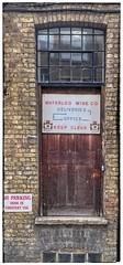 Waterloo Wine (theaspiringphotographer) Tags: door waterloo wine sign london borough doorway portal iphone6