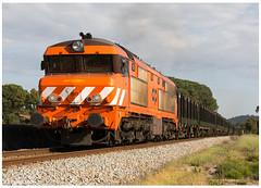 Vale das Cortiças 23-04-17 (P.Soares) Tags: comboio comboios medway mercadorias 1900 carga vagões madeira diesel linha locomotiva locomotivas linhas laranja train trains tren t