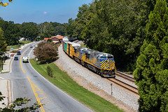 CitiRails are Back! (Kyle Yunker) Tags: crex citirail es44ac ge general electric