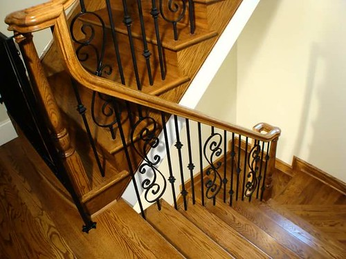 Andronic's Construction co inc in Charlotte NC builders and contractors of beautiful stairs.