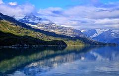 Glacier Bay National Park, Alaska (2) (louelke - back and busy) Tags: glacierbaynationalpark alaska pristine colors clearwatercold glaciers cruise