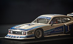 SACHS Ford Capri (MoFasterMo) Tags: fly a141 ford capri rs turbo zolder drm 1979 slot car toy hobby 132 color missouri nikon d3100 digital 3678x2228