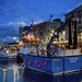 Plymouth Harbour (jonsomersphotos) Tags: plymouth suttonharbour fishingboats trawler devon uk night