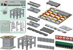 ViaTrack System Instructions Now Available (michaelgale) Tags: lego instructions modular multiroad viatrack viaduct trains layout lgauge lgaugeorg