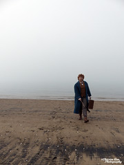 P1450115 (Christen Ann Photography) Tags: cosplay newt newtscamander fantasticbeasts harrypotter potterhead photography portrait beach fog weather 2017 photoshoot cosplayphotoshoot auckland newzealand mist potter magical