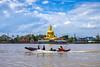 Koh Kret (danielzawarczynski) Tags: thailand bangkok culture kohkret temple clouds sky colors fuji xt1 fujixt1 landscapes chaophraya weekends
