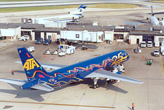 Chicago Midway Airport - ATA - 757 (twa1049g) Tags: chicago midway airport ata 1999 n520at