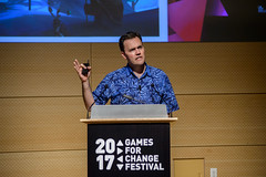2017 Games for Change Festival: Industry Circle (Games for Change) Tags: 2017 day1 g4c gamesforchangefestival nyc parsonsnewschool industrycircletownhall jesseschell schellgames