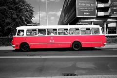 DSCF1269a_jnowak64 (jnowak64) Tags: poland polska malopolska cracow krakow krakoff zwierzyniec komunikacja autobus lato mpk mik selektywnebarwy