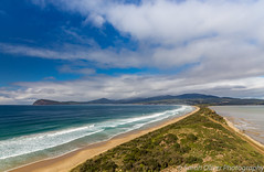 What A View! (SarahO44) Tags: northbruny tasmania australia au island neck lookout landscape ocean view beach sand waves surf canon 6d outdoors water tasman sea clouds bruny north south