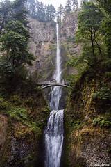 Multnomah Falls, Oregon (isaac.borrego) Tags: uploadedviaflickrqcom waterfall canyon creek stream multnomahfalls columbiarivergorge portland oregon canonrebelt4i