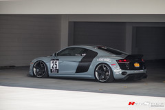 "RAYS Blackfleet V205C - Audi R8 - Artisan Spirits Japan Kit - SEMA 2016 • <a style=""font-size:0.8em;"" href=""http://www.flickr.com/photos/64399356@N08/35977405290/"" target=""_blank"">View on Flickr</a>"
