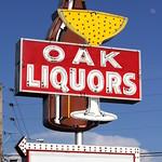 Oak Liquors neon sign - Manchester, TN thumbnail
