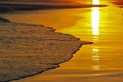 Golden Sunset! (K.Yemenjian Photography) Tags: sunset westcoast sand venturabeach venturabeachcalifornia california pacificocean reflection canont5i canon sun sunlight beach landscape water waves golden gold t5i 700d canon700d placescity