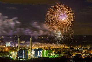 Feuerwerk Cranger Kirmes