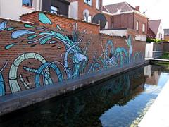 street art Mechelen (_Kriebel_) Tags: kriebel uploadedviaflickrqcom street art mechelen malines graffiti urban urbain muralism