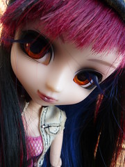 Rikke (.Poisoned♥Death.) Tags: pullip bloodyredhood bloody red hood doll rikke groove jun planning rewigged rechipped coolcat eyelashes
